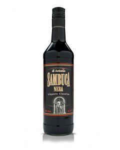 ליקר סמבוקה שחורה די אנטוניו