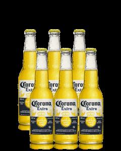 """קורונה -בירה מקסיקנית 355 מ""""ל"""