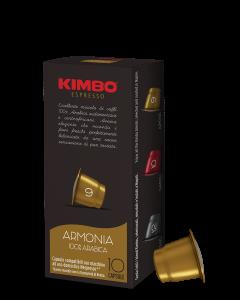 שרוול קפסולות קפה קימבו- דרגת חוזק 9 ארמוניה