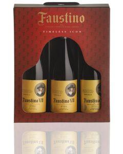 פאוסטינו 7 אדום-מארז שלישיה