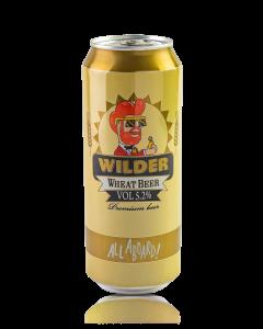 בירה ווילדר חיטה פחית 0.5