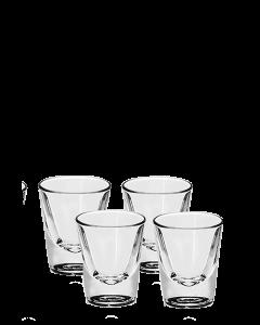 """כוס צ'ייסר זכוכית 22 מ""""ל"""