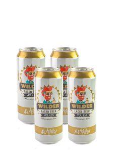 בירה ווילדר לאגר פחית 0.5