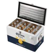 """צידנית קורונה + 18 בקבוקי קורונה 355 מ""""ל"""