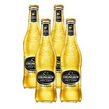סיידר תפוחים אלכוהולי סטרונגבאו -בקבוק