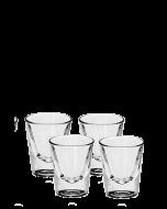 כוס צ'ייסר זכוכית 22 מ